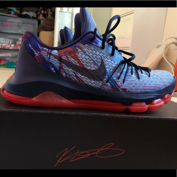 official photos 28652 28f31 Nike KD 8 USA Independence Day